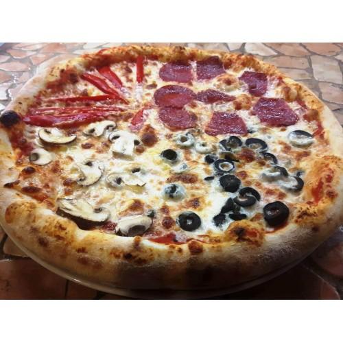 Pizza Quatro Stagioni Italiana